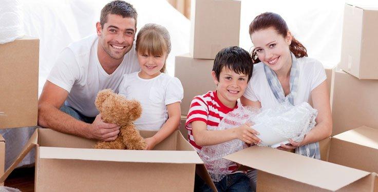 Deposito mobili di casa per la famiglia